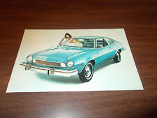 1974 Ford Pinto 2-Door Sedan  Advertising Postcard