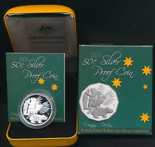 2004 50c 999 Silver Proof Student Design Coin