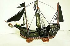 100% Hand Made & Painted Metal Craft Pirate Ship Decoration Detail Finish