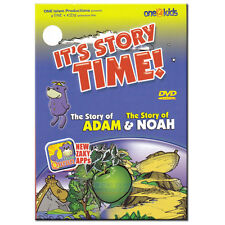 NEW  IT'S STORY TIME! THE STORY OF ADAM & NOAH ZAKY DVD ANIMATIONS WATCH & LEARN