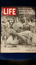 Life magazine Nov 29 1968 - Russia in The Middle East WOW TAKE A LOOK NOW (B10)