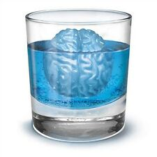 Novel Brain Shape Freeze Ice Cube Tray Mould Baking Ice Silicone Mold