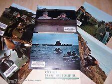 L' EVASION DU CAPITAINE SCHLUETTER ! jeu 9 photos cinema lobby card guerre 39-45