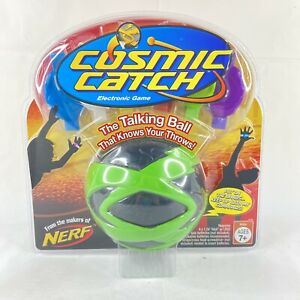 """NERF Cosmic Catch """"The Talking Ball"""" Electronic Game 2006 Green Ball 42790 New"""