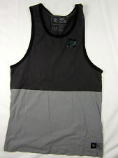 Rip Curl Surf Custom fit soft Tank top men's gray size MEDIUM