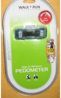 PEDOMETER - STEP AND DISTANCE - SPORTLINE - WALK/RUN COLLECTION