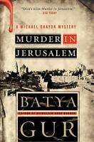 Murder in Jerusalem - Batya Gur - HarperPerennial - Acceptable - Paperback