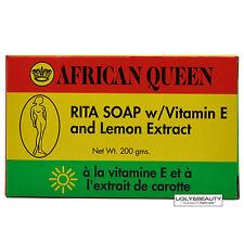 African Queen Rita Soap w/ Vitamin E and Lemon Extract 200 grams