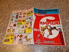 ALBUM CAMPIONI DELLO SPORT 1970 1971 PANINI ORIGINALE Q.EDICOLA VUOTO CON CEDOLA