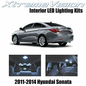 XtremeVision Interior LED for Hyundai Sonata 2011-2014 (8 PCS) Cool White