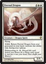 ETERNAL DRAGON NM mtg Commander 2013 White - Dragon Spirit Rare
