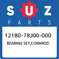 12180-78J00-000 Suzuki Bearing set,connrod 1218078J00000, New Genuine OEM Part