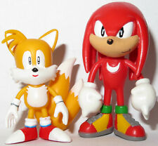 2 x FIRST 4 FIGURES 6cm TAILS & KNUCKLES FIGURE TOYS SEGA SONIC THE HEDGEHOG F4F