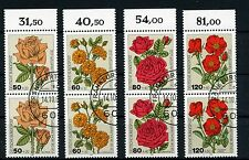 Federal 1150/3 welfare 1982-Flowers-Pairs with Border-SHIPPING POST STAMPED