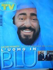 TV Sorrisi e Canzoni 48 1997 Luciano Pavarotti Natalia Estrada Anna Falchi [D19]
