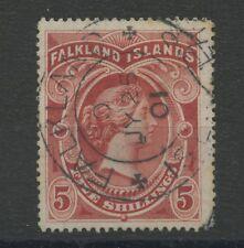 Falkland Islands SG42 5s Used
