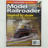 Model Railroader April 2020 Magazine Kalmbach Publishing Model Trains hobby