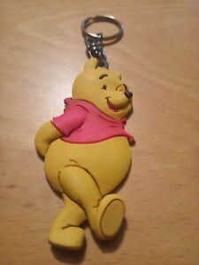 Disney Winnie The Pooh Rubber Plush Keyring