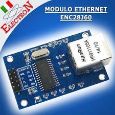MODULO ETHERNET RETE LAN ENC28J60 - 28J60 MODULE SHIELD ARDUINO PIC AVR ARM