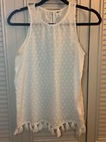 Old Navy Women's Ivory Top, Size S