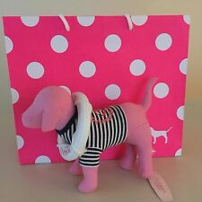 VICTORIA'S SECRET PINK-COLLECTIBLE SAILOR PLUSH DOG New with Tags, Exquisite!!