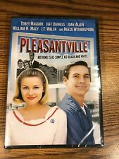 Pleasantville Dvd Brand New Movie 1998 Toby Maguire Jeff Daniels Witherspoon