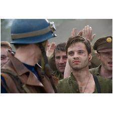 Chris Evans as Captain America looking Sebastian Stan as Bucky 8 x 10 Inch Photo
