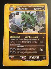 Carte Pokemon TYRANOCIF 66/165 Rare Expédition Wizard Française