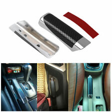 Car Accessory Universal Hand Brake Protector Decoration Cover Carbon Fiber Style