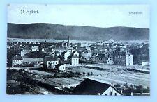 AK ST.INGBERT Unterstadt 1908 - Saarbrücken Neunkirchen