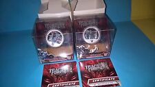 2009 TRANSFORMERS COINS SET,SILVER