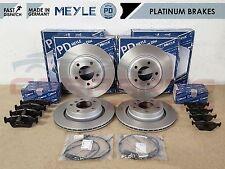 FOR BMW 320D 320CD 320 CD FRONT REAR MEYLE PLATINUM BRAKE DISCS PADS WIRE SENSOR