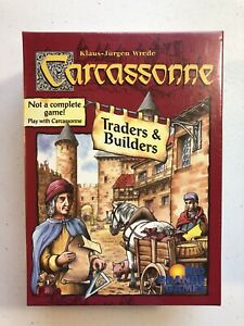Carcassonne Traders & Builders Expansion NEW SEALED 1st Edition 2003 Rio Grande