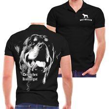 POLO Shirt Rottweiler Deutsches Kulturgut Grösse S bis 5XL poloshirt polohemd