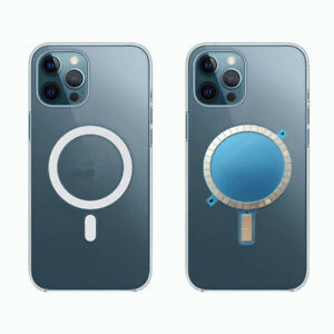 2Pcs Mag safe Case Magnet Sticker Wireless Charging Magnetic For iPhone 12 Pro