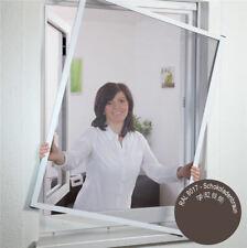 Culex Insektenschutz Fliegengitter für Fenster Typ Master 140x150cm braun