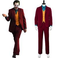 Batman Joker Arthur Fleck Joaquin Phoenix Coat Cosplay Jacket Costume Halloween