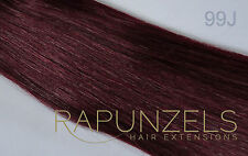 """20"""" 1 gram pre bonded stick tip/i tip real remy human hair extensions micro ring"""