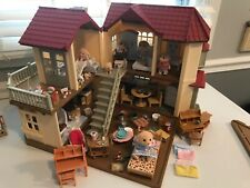 🐶 🐶 Calico Critters Luxury Townhome Furniture, accessories, dog family