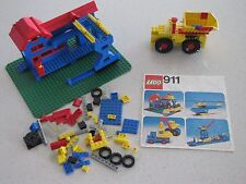 Lego Set no. # 911 vintage 1976 with instructions no box 86%complete incomplete