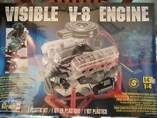 Revell 85-8883 1/4 Visible V-8 Engine Plastic Model Kit.