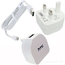 HTC TC B270 MAINS CHARGER + USB CABLE FOR HTC ONE M7 M8 M9 610 310 SENSATION XL