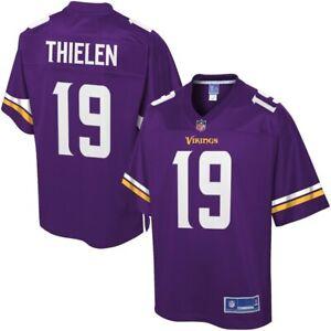 NWT Adam Thielen Minnesota Vikings Officially Licensed Men's Pro Line Jersey