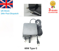 65W Type-C USB-C AC Adapter Power Supply Charger For ASUS Lenovo Apple Laptop