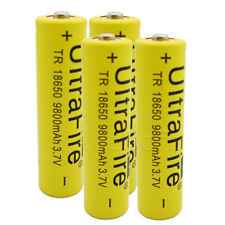 18650 Battery 9800mAh 3.7V Li-ion Rechargeable Cell For LED Flashlight Torch Lot