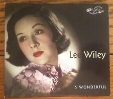 Lee Wiley - 'S Wonderful 2CD Proper Music
