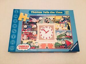 Ravensburger Thomas & Friends 60 Piece Jigsaw Puzzle THOMAS Tells The Time