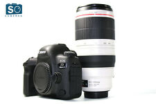 Canon EOS 5d MARK corpo della fotocamera DSLR IV con 100-400mm f/4.5-5.6l IS II USM Lens Mark