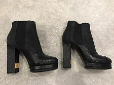 Chanel High Heel Ankle Boots 37.5