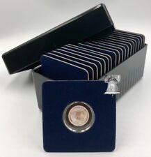 Air-tite Storage Box + 20 Coin Holder Velvet Display Card Case + Model A Capsule